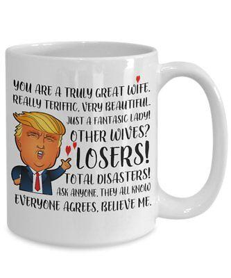 Trump mug for great wife mug - donald trump Mug - Funny Trump Mug - Wife mug
