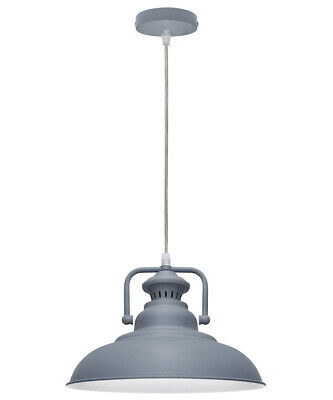 Vintage Industrial Metal Ceiling Pendant Shade Modern Hanging Retro Light M0113