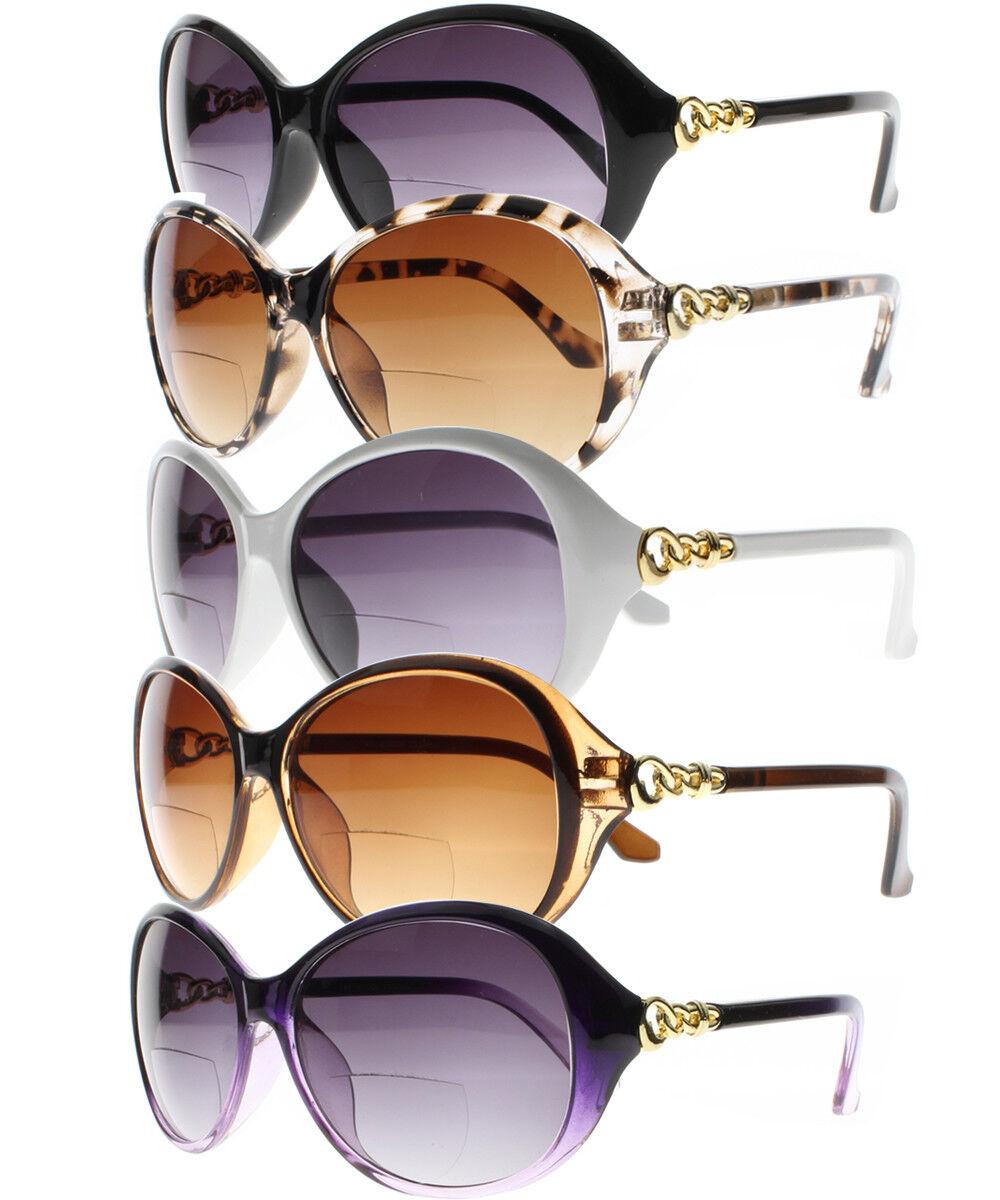 Meine Damen und Bifocal Getönte Sonnenbrille einer Lesebrille UV400 + 1.0~+4.0