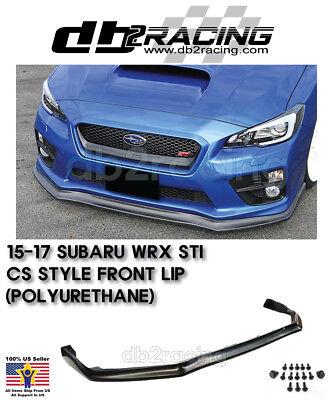Fits 18-19 Subaru WRX STi V-Limited Style Front Lip Urethane
