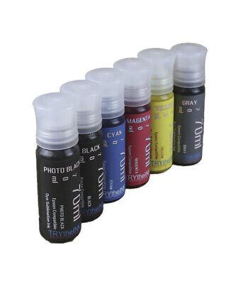 Dye Sublimation Ink 6-70ml Bottles For Epson Ecotank Et-8500 Et-8550 Non-oem