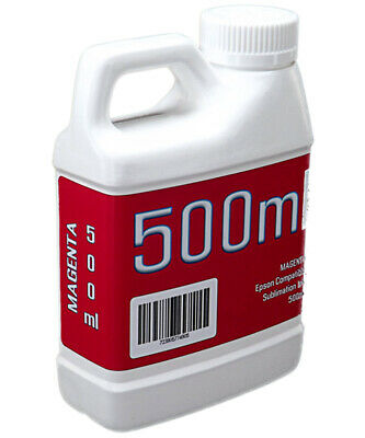 Magenta Dye Sublimation Ink 500ml Bottle Epson Stylus Pro Printers Non-oem