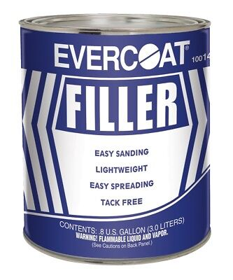 Fiberglass Evercoat 141 Easy Sanding Lightweight Body Filler (Gallon) Fiberglass Body Filler