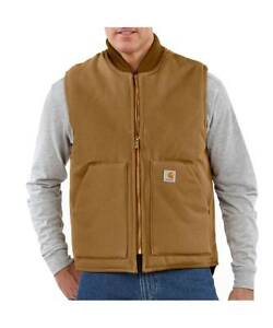 RARE - Carhartt WIP Men's Arctic-Quilt Lined Duck Vest (MEDIUM) Yarraville Maribyrnong Area Preview