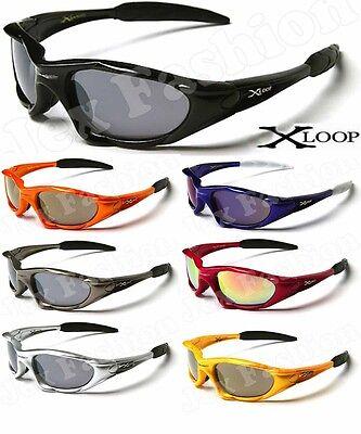 X-Loop Sport Cycling Fishing Golfing Wrap Around New Sunglasses Mens Running
