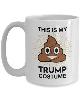 This is my Trump costume Coffee Mug - Anti-Trump Mug - Mocking Trump Gift