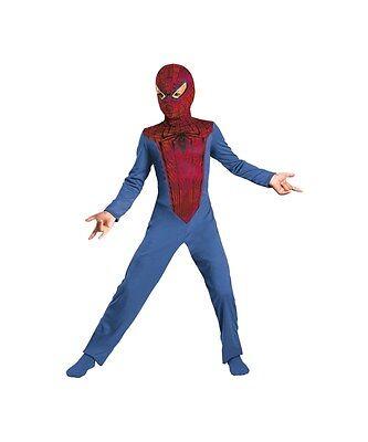 Amazing Spider-Man Kinder Kostüm Jungen M 7-8 Disguise Marvel Superheld Neu