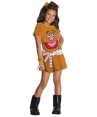 Animal Girl The Muppets FOZZIE BEAR Cute  Halloween TODDLERS Costume 2-4 NEW](Fozzie Bear Costume)