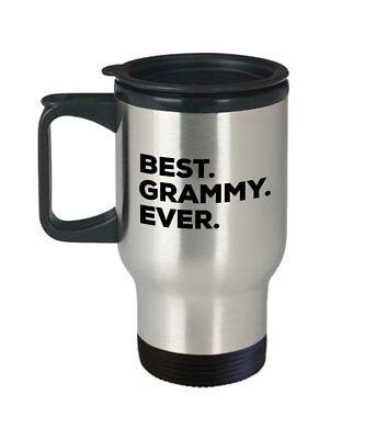 Best Grammy Ever Travel Mug - Grammy Gifts For A Novelty Present Idea -