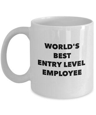 SpreadPassion Best Employee Mug - World's Best Entry Level Employee