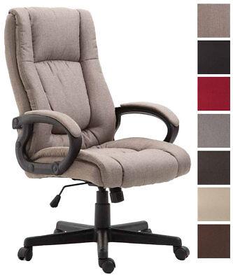 Bürostuhl Sparta XL Stoff Chefsessel Big Schreibtischstuhl Drehsessel