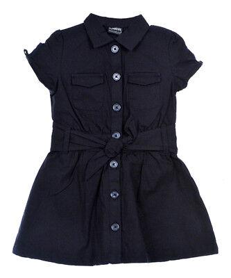 big girls safari classic belted dress sizes