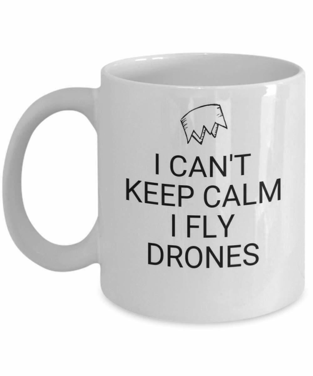 Gedruckte Keramik Kaffeetasse Ich Fliege Drohnen Am Besten Lustiges Geschenk 1Pc