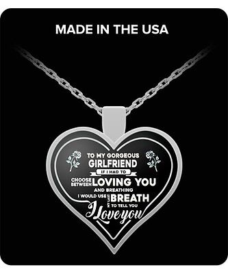 girlfriend gifts -To My Gorgeous Girlfriend best gift to girl