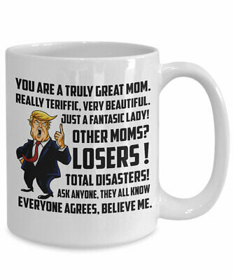 Trump mug for great mom donald trump mothers day gift - Gift for MOM