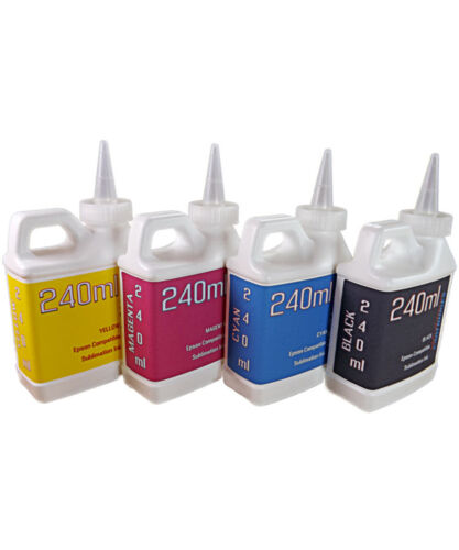 Dye Sublimation Ink 240ml bottles for Epson ET-2720 ET- 2760 printers NON - OEM
