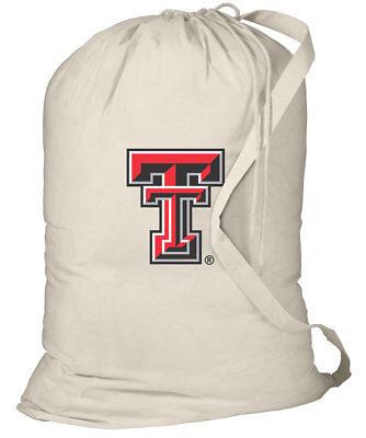 Texas Tech Laundry Bags BEST Texas Tech Red Raiders Clothes Bag SHOULDER STRAP!