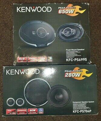 Kenwood KFC-PS704P 2-way Component Car Speakers 16cm 6.5
