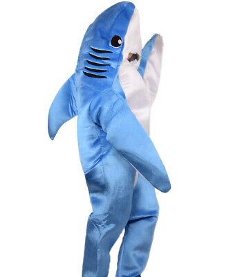 Halloween Whale Shark Mascot Costume Cosplay Animal Parade Jumpsuit Outfit Adult