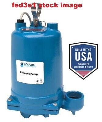 Goulds We0538h Submersible Pump 12 Hp 360-200v Nib