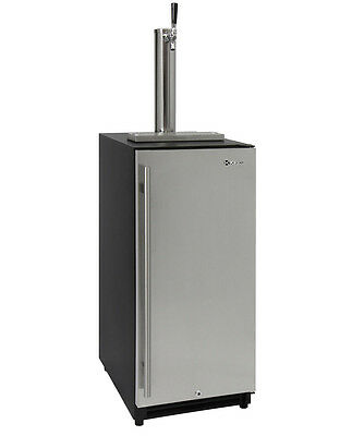 Kegco Vsk-15ssrn 15 Wide Built In Undercounter Kegerator With Stainless Door