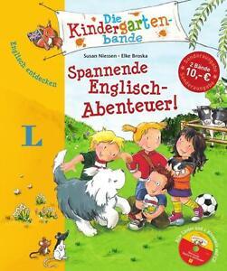 Die Kindergartenbande: 2 Spannende Englisch-Abenteuer!  (2014, Gebunden