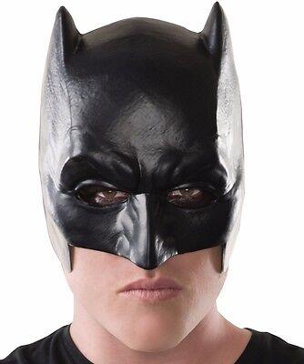Batman Costume Mask Adult  Mens Bat Man Classic 1/2 Mask - Fast Ship - - Bat Man Masks