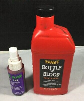 Vampire Doctor Halloween (Fake Blood Halloween Costume Cosplay spray bottle refill vampire zombie doctor)