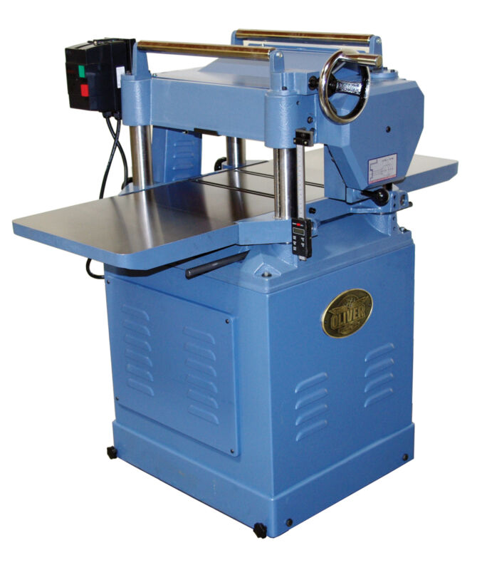 "**SALE** Oliver 16"" Planer 4 Sided Helical Cutterhead 5HP/ 1PH"