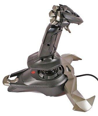 (Mad Catz Saitek Cyborg V.1 V1 Flight Stick Joystick USB for PC)