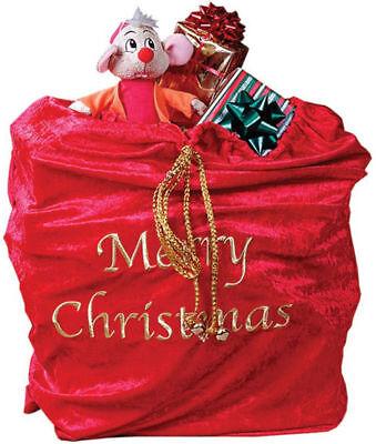 Morris Costumes Santa Claus Accessories & Makeup Christmas Accessory Bag. FW7534