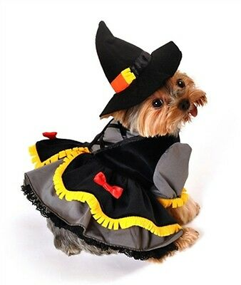 Scarecrow Witch Dog Costume by Anit Accessories ~ Size Medium - Scarecrow Dog Costume