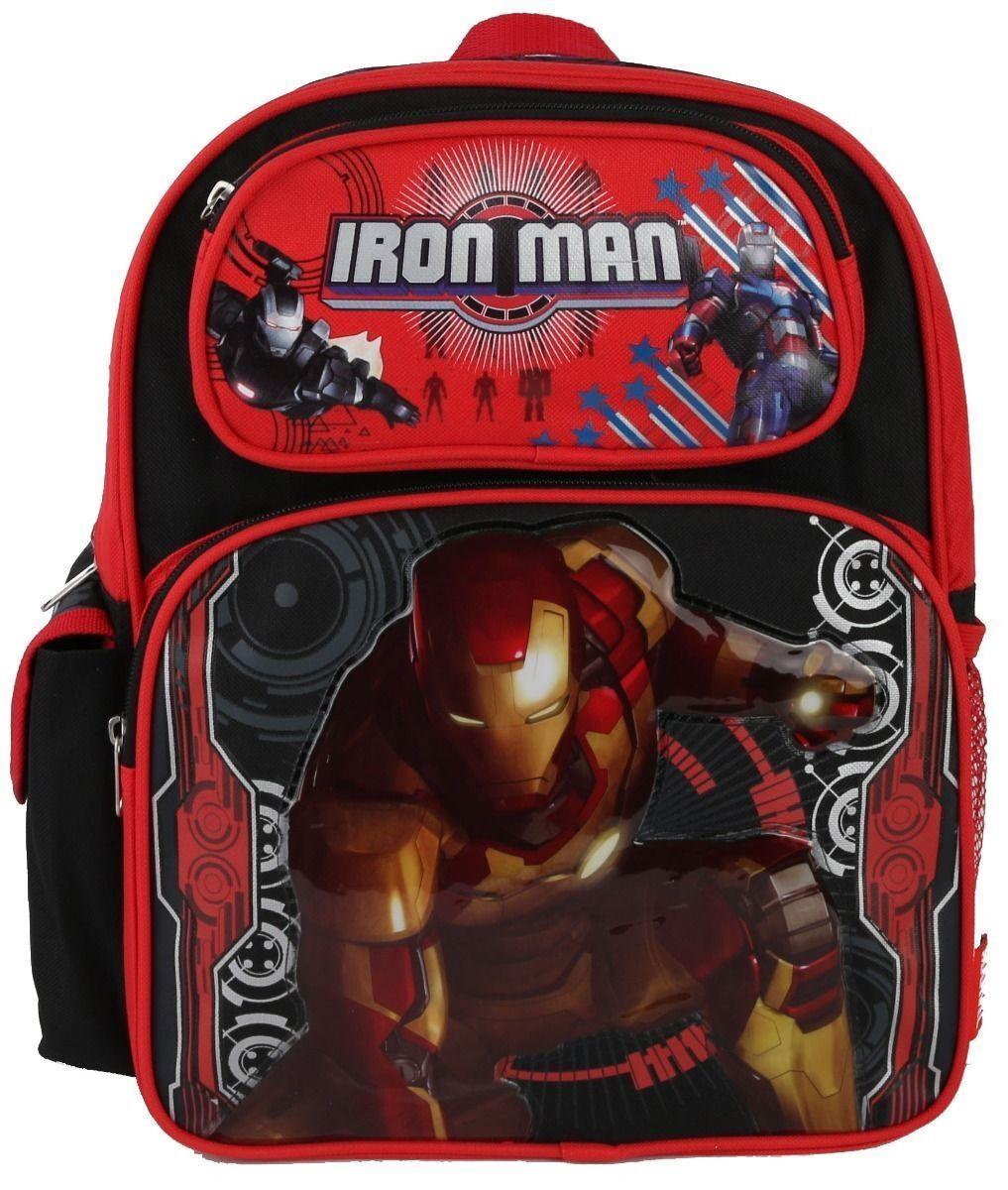 Marvel Iron Man School Backpack