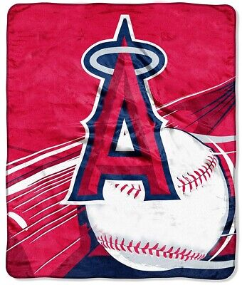los angeles angels blanket bedding 50x60 plush