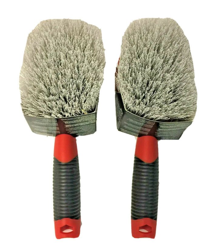"2 Pack Black & Decker Short Utility Brush, 4 1/2"" Brush, CA262136"