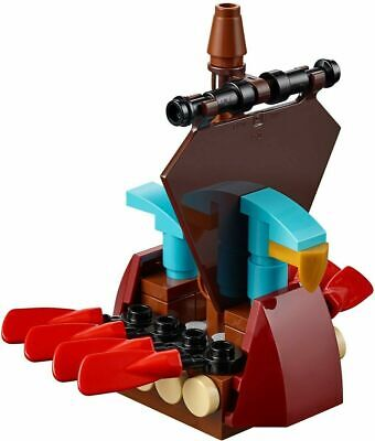 Lego Polybag 40323 MICRO VIKING SHIP New and Sealed Build of the month