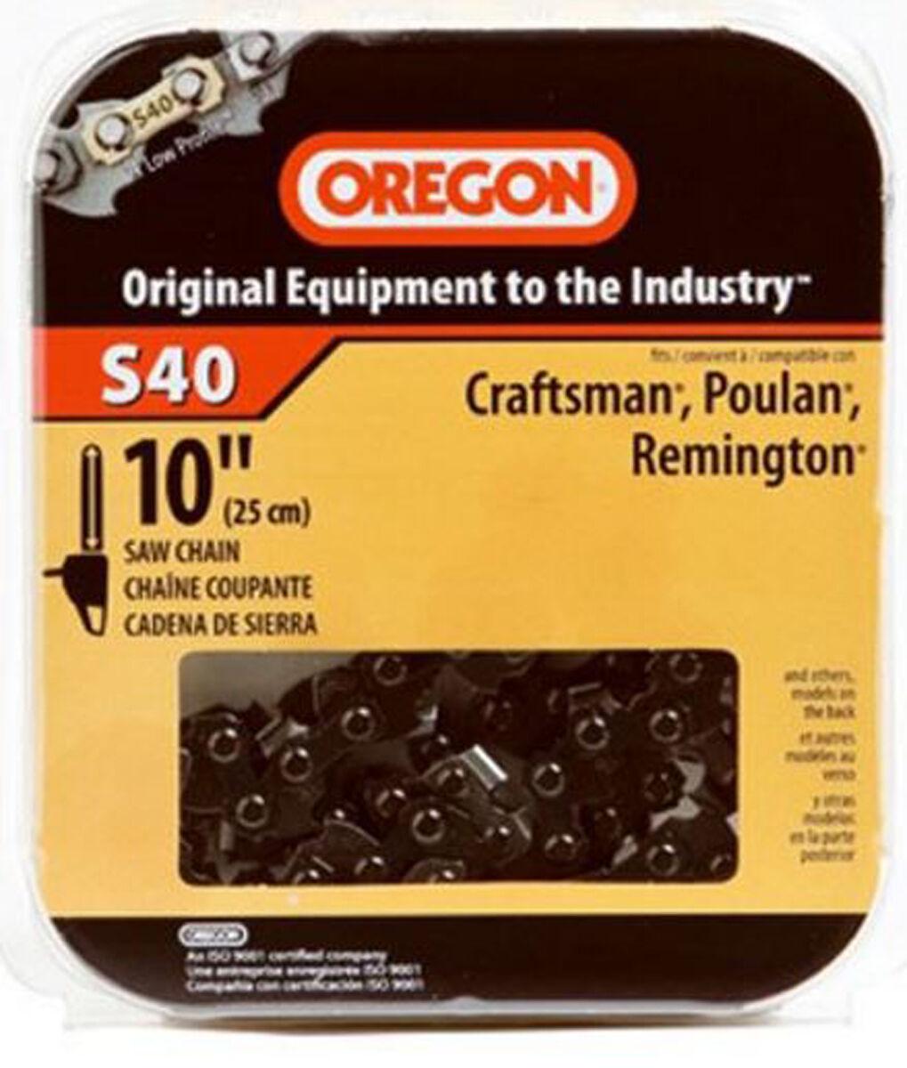 Oregon Chain 10in. Semi Chisel Cutting Chain  S40