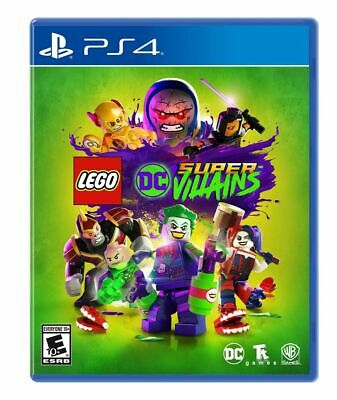 LEGO: DC Comics Super Villains USED SEALED (PlayStation 4, 2018) PS4