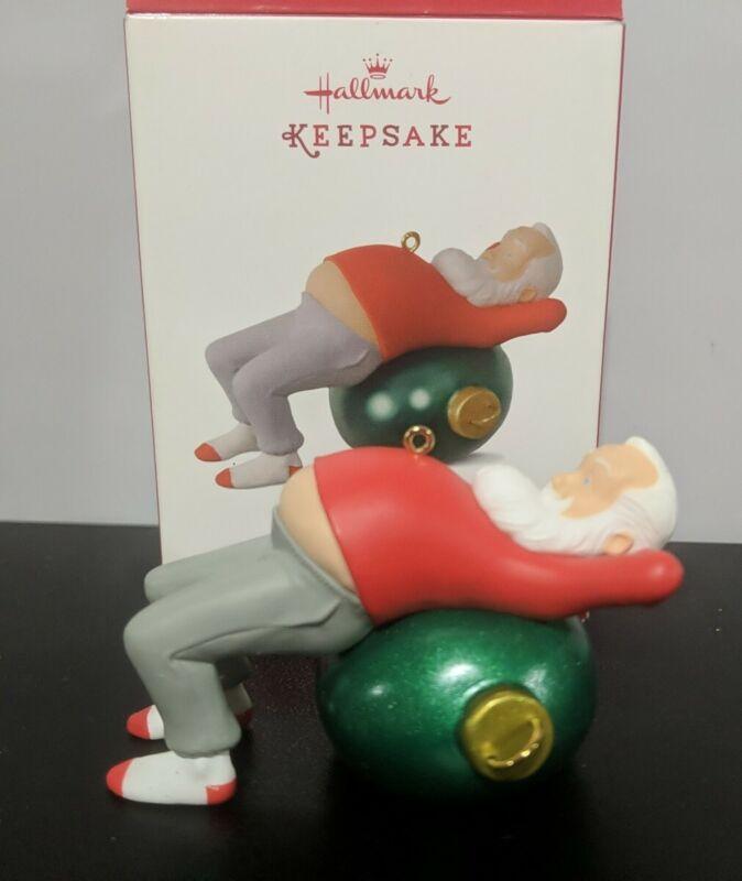 "Hallmark Keepsake Ornament ""Core Crunchin Kringle"" 2017 Santa Clause"