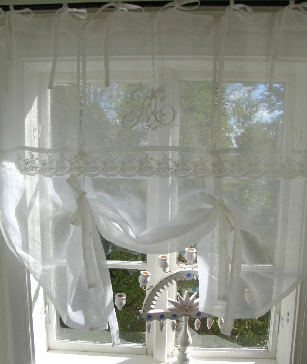 raffgardine 90 cm breit cool raff gardine heart blau cm breit shabby chic vintage curtain with. Black Bedroom Furniture Sets. Home Design Ideas