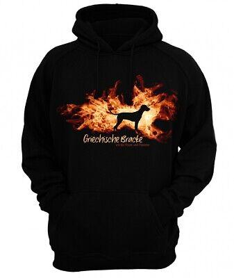 Sweatshirt GRIECHISCHE BRACKE FEUER UND FLAMME by Siviwonder Hoodie ()