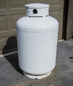 100 lb propane tank hook up