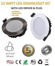 WHOLESALE LED 10W 12W 13W 15W DIMMABLE DOWNLIGHT KIT SUPER BRIGHT Sydney City Inner Sydney Preview