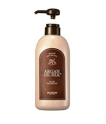 [SKINFOOD]  Argan Oil Silk Plus Hair Shampoo 500ml  (New)   -Korea Cosmetics