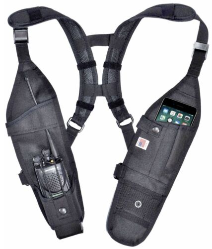 Motorola Double Radio Shoulder Holster