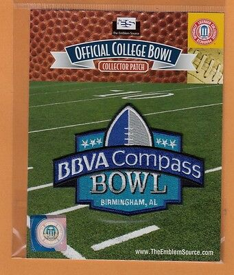 2013 Birmingham Bbva Compass Bowl Jersey Patch Ole Miss Rebels Pitt Panthers