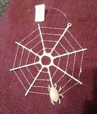 Vintage Silvestri Spider & Web Christmas Ornament ...