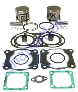 1987-2006 Yamaha YFZ 350 Banshee ATV 65 mm .040 Bore WSM Top End Piston Kit