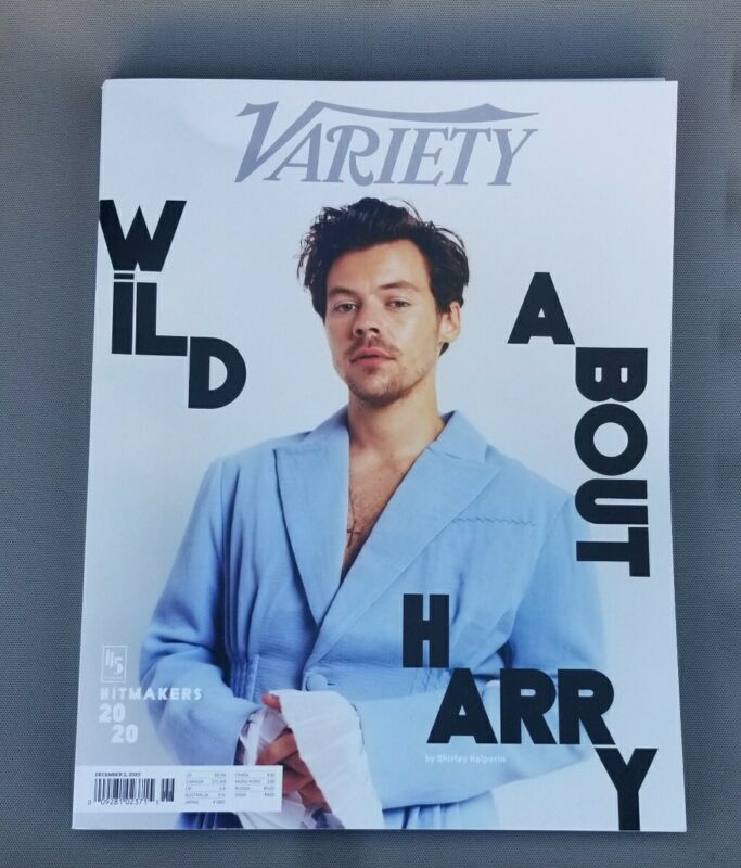 HARRY STYLES  - VARIETY MAGAZINE - DECEMBER 2020 - RARE NO AD-WRAP VERSION!