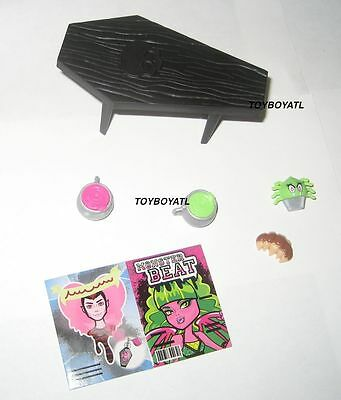 Monster High Costco Exclusive Coffin Bean Table Food Drinks Doll Furniture LOOSE - Costco Table